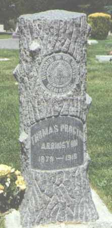 ARRINGTON, THOMAS PROCTOR - San Juan County, New Mexico | THOMAS PROCTOR ARRINGTON - New Mexico Gravestone Photos