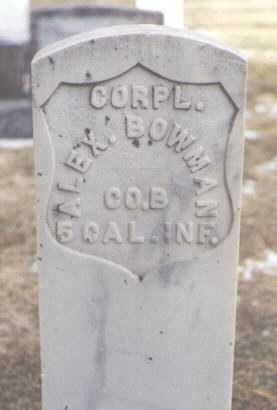 BOWMAN, ALEX. - San Juan County, New Mexico | ALEX. BOWMAN - New Mexico Gravestone Photos