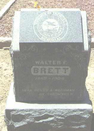 BRETT, WALTER F. - San Juan County, New Mexico | WALTER F. BRETT - New Mexico Gravestone Photos