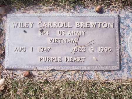 BREWTON, WILEY CARROLL - San Juan County, New Mexico   WILEY CARROLL BREWTON - New Mexico Gravestone Photos