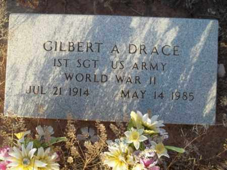 DRACE, GILBERT A. - San Juan County, New Mexico | GILBERT A. DRACE - New Mexico Gravestone Photos