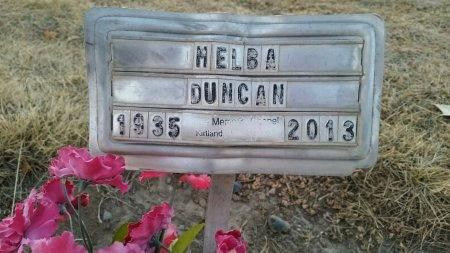 DUCAN, MELBA EUGENIE - San Juan County, New Mexico   MELBA EUGENIE DUCAN - New Mexico Gravestone Photos