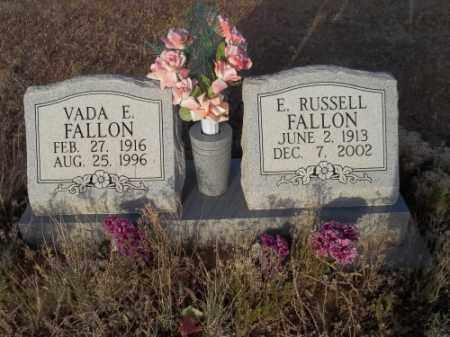 FALLON, VADA E. - San Juan County, New Mexico | VADA E. FALLON - New Mexico Gravestone Photos