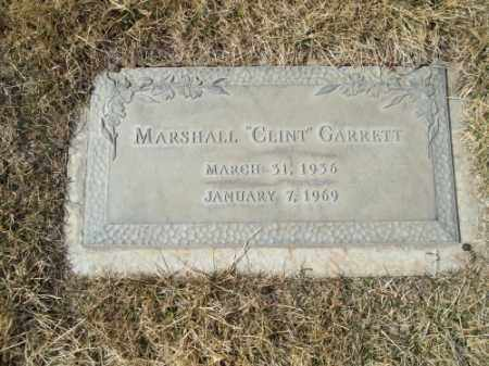 "GARRETT, MARSHALL ""CLINT"" - San Juan County, New Mexico | MARSHALL ""CLINT"" GARRETT - New Mexico Gravestone Photos"