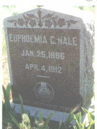 HALE, EUPHOEMIA - San Juan County, New Mexico | EUPHOEMIA HALE - New Mexico Gravestone Photos