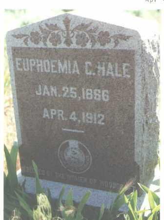 HALE, EUPHOEMIA - San Juan County, New Mexico | EUPHOEMIA HALE - New Mexico Gravestone Photos