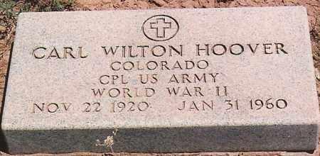 HOOVER, CARL WILTON - San Juan County, New Mexico | CARL WILTON HOOVER - New Mexico Gravestone Photos