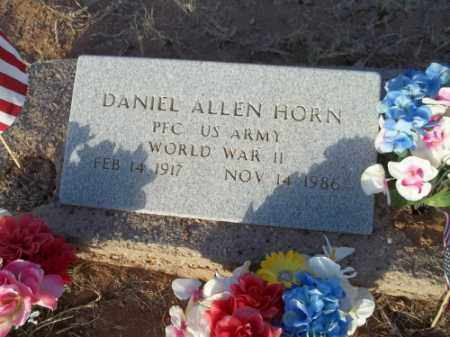 HORN, DANIEL ALLEN - San Juan County, New Mexico | DANIEL ALLEN HORN - New Mexico Gravestone Photos