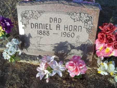 HORN, DANIEL A. - San Juan County, New Mexico | DANIEL A. HORN - New Mexico Gravestone Photos