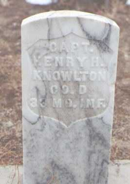 KNOWLTON, HENRY H. - San Juan County, New Mexico   HENRY H. KNOWLTON - New Mexico Gravestone Photos