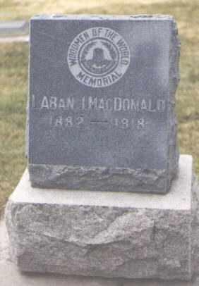MACDONALD, LABAN J. - San Juan County, New Mexico | LABAN J. MACDONALD - New Mexico Gravestone Photos