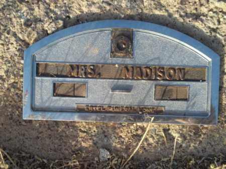 MADISON, MRS. - San Juan County, New Mexico | MRS. MADISON - New Mexico Gravestone Photos