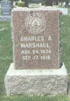MARSHALL, CHARLES A. - San Juan County, New Mexico | CHARLES A. MARSHALL - New Mexico Gravestone Photos