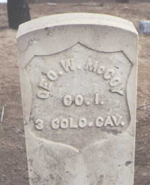 MCCOY, GEORGE W. - San Juan County, New Mexico | GEORGE W. MCCOY - New Mexico Gravestone Photos