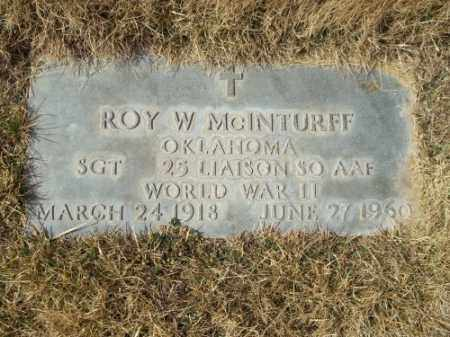 MCINTURFF, ROY W. - San Juan County, New Mexico | ROY W. MCINTURFF - New Mexico Gravestone Photos