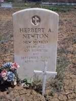 NEWTON, HERBERT A. - San Juan County, New Mexico   HERBERT A. NEWTON - New Mexico Gravestone Photos