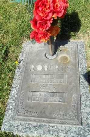 """ROBERTS, BENJAMIN THOMAS """"BENNIE"""" - San Juan County, New Mexico   BENJAMIN THOMAS """"BENNIE"""" ROBERTS - New Mexico Gravestone Photos"""