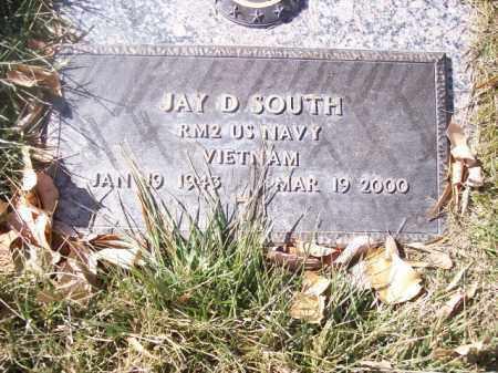 SOUTH, JAY D. - San Juan County, New Mexico | JAY D. SOUTH - New Mexico Gravestone Photos