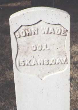 WADE, JOHN - San Juan County, New Mexico | JOHN WADE - New Mexico Gravestone Photos