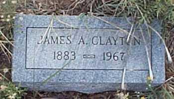 CLAYTON, JAMES A. - San Miguel County, New Mexico   JAMES A. CLAYTON - New Mexico Gravestone Photos