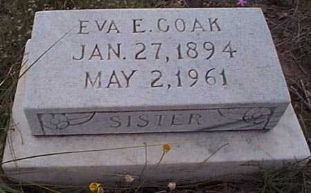GOAK, EVA E. - San Miguel County, New Mexico | EVA E. GOAK - New Mexico Gravestone Photos