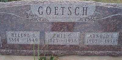 GOETSCH, EMIL O. - San Miguel County, New Mexico | EMIL O. GOETSCH - New Mexico Gravestone Photos
