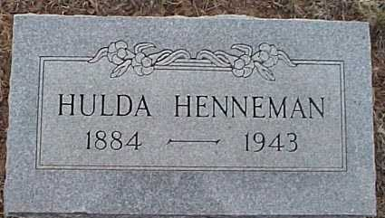 HENNEMAN, HULDA - San Miguel County, New Mexico | HULDA HENNEMAN - New Mexico Gravestone Photos