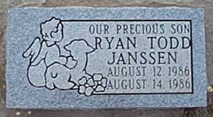 JANSSEN, RYAN TODD - San Miguel County, New Mexico | RYAN TODD JANSSEN - New Mexico Gravestone Photos