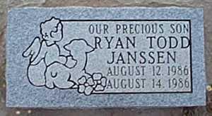 JANSSEN, RYAN TODD - San Miguel County, New Mexico | RYAN TODD JANSSEN - New Mexico Gravestone Photos
