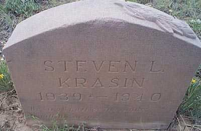 KRASIN, STEVEN L. - San Miguel County, New Mexico | STEVEN L. KRASIN - New Mexico Gravestone Photos