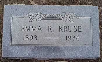 KRUSE, EMMA R. - San Miguel County, New Mexico | EMMA R. KRUSE - New Mexico Gravestone Photos