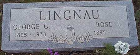 LINGNAU, GEORGE G. - San Miguel County, New Mexico | GEORGE G. LINGNAU - New Mexico Gravestone Photos