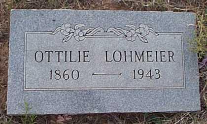LOHMEIER, OTTILIE - San Miguel County, New Mexico | OTTILIE LOHMEIER - New Mexico Gravestone Photos