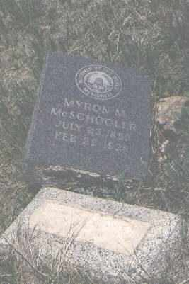 MCSCHOOLER, MYRON - San Miguel County, New Mexico | MYRON MCSCHOOLER - New Mexico Gravestone Photos