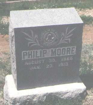 MOORE, PHILIP - San Miguel County, New Mexico   PHILIP MOORE - New Mexico Gravestone Photos
