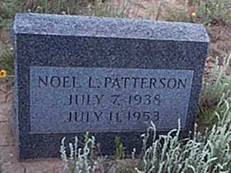 PATTERSON, NOEL L. - San Miguel County, New Mexico | NOEL L. PATTERSON - New Mexico Gravestone Photos