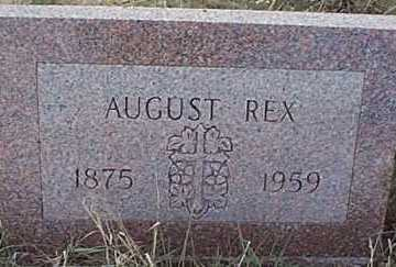 REX, AUGUST - San Miguel County, New Mexico | AUGUST REX - New Mexico Gravestone Photos