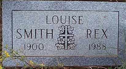 SMITH REX, LOUISE - San Miguel County, New Mexico | LOUISE SMITH REX - New Mexico Gravestone Photos