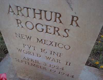 ROGERS, ARTHUR R. - San Miguel County, New Mexico | ARTHUR R. ROGERS - New Mexico Gravestone Photos
