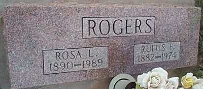 ROGERS, RUFUS B. - San Miguel County, New Mexico | RUFUS B. ROGERS - New Mexico Gravestone Photos