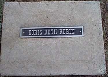 RUBIN, DORIS RUTH - San Miguel County, New Mexico | DORIS RUTH RUBIN - New Mexico Gravestone Photos