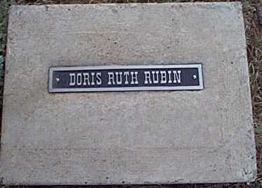 RUBIN, DORIS RUTH - San Miguel County, New Mexico | DORIS RUTH RUBIN - New Mexico Gravestone Photos