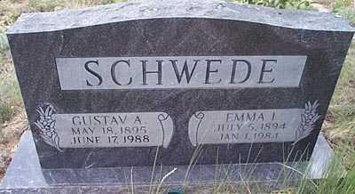 SCHWEDE, GUSTAV A. - San Miguel County, New Mexico | GUSTAV A. SCHWEDE - New Mexico Gravestone Photos