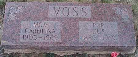 VOSS, CAROLINA - San Miguel County, New Mexico | CAROLINA VOSS - New Mexico Gravestone Photos