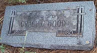 WOOD, GRACE C. - San Miguel County, New Mexico   GRACE C. WOOD - New Mexico Gravestone Photos