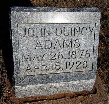 ADAMS, JOHN QUINCY - Santa Fe County, New Mexico | JOHN QUINCY ADAMS - New Mexico Gravestone Photos