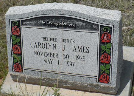 AMES, CAROLYN J. - Santa Fe County, New Mexico | CAROLYN J. AMES - New Mexico Gravestone Photos