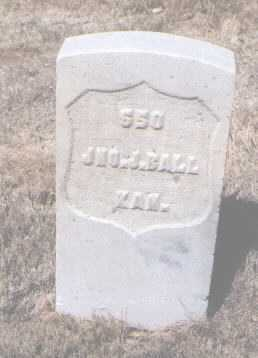 BALL, JOHN (JNO.) J. - Santa Fe County, New Mexico   JOHN (JNO.) J. BALL - New Mexico Gravestone Photos