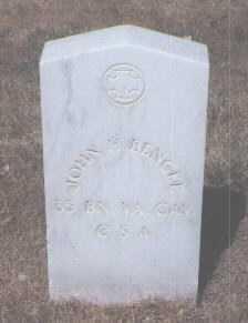 BENCKE, JOHN H. - Santa Fe County, New Mexico | JOHN H. BENCKE - New Mexico Gravestone Photos