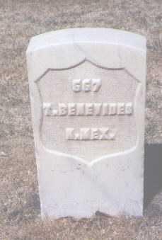BENEVIDES, T. - Santa Fe County, New Mexico   T. BENEVIDES - New Mexico Gravestone Photos
